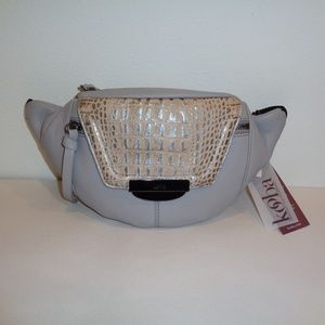 Kooba PANAMA Dove Leather New Womens Belt Bag